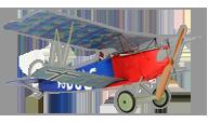 Fokker D.VII [Ares RC]