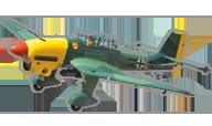 Junkers Ju-87B-2 Stuka [Black Horse Model]