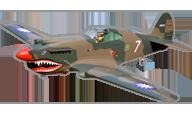 P-40C Tomahawk [Black Horse Model]