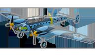 Messerschmitt BF-110 [Dynam]