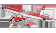 Carbon-Z Cessna 150 [E-flite]