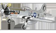P-51 D Mustang (June Nite) [E-flite]