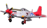 P-51 Mustang Red Tail [fms]