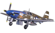 P-51B Mustang Dallas Darling [fms]