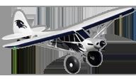 PA-18 Super Cub [fms]