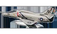 A-4 E/F Skyhawk [Freewing Model]