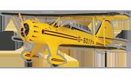 Waco YMF-5D Biplane [Great Planes]