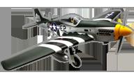 P-51D Mustang [hangar 9]