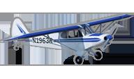 PA-18 Super Cub [hangar 9]
