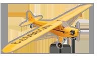 Piper Cub J-3 [hangar 9]