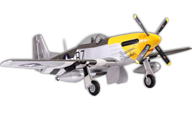 P51D Mustang-Ferocious Frankie [fms]