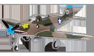 P-39 Airacobra [E-flite]