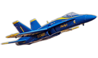 F/A-18C Hornet Blue Angels [Freewing Model]