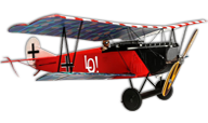 Fokker D.VII Micro EP [Flyzone]