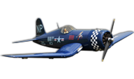 F4U Corsair 55CC [Black Horse Model]