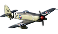 Hawker Sea Fury [FlightLine RC]