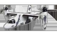 VTOL V-22 Osprey [Global AeroFoam]
