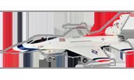 F-16 Fighting Falcon [HSDjets]