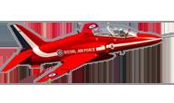 Hawk T1 Red Arrow [Freewing Model]