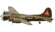 B-17 Flying Fortress  [Freewing Model]