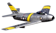 F-86 Sabre [Freewing Model]