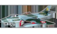 Hawker Hunter [TopRCModel]
