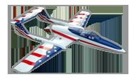 ELAN Stars & Stripes [Boomerang RC Jets]
