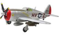 P-47 Thunderbolt [Arrows RC]