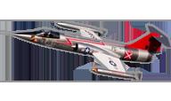 F-104 Starfighter [Freewing Model]