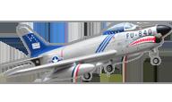 Sabre F-86D [Pilot RC]