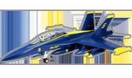 F-18 Blue Angels [E-flite]