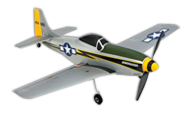 P-51D Mustang Ultra-micro [parkzone]