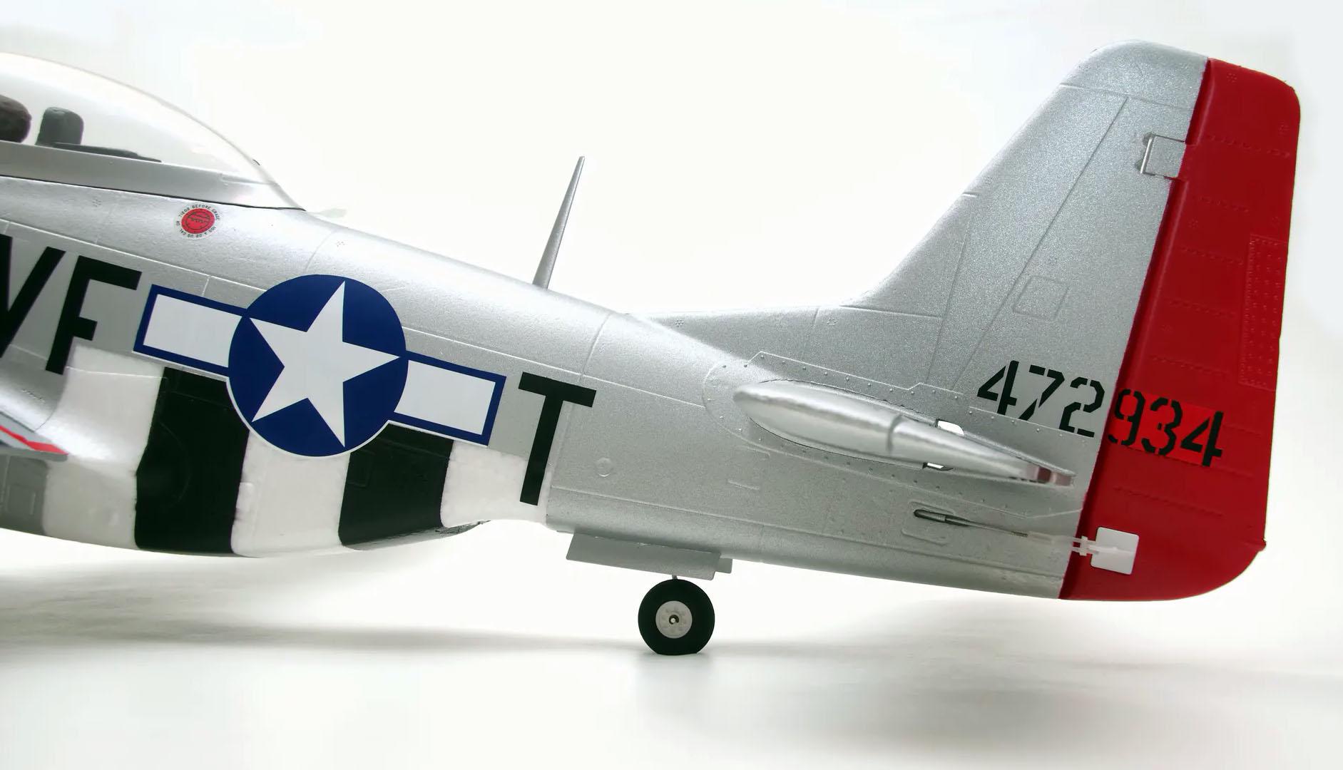P-51 Mustang Arrows RC