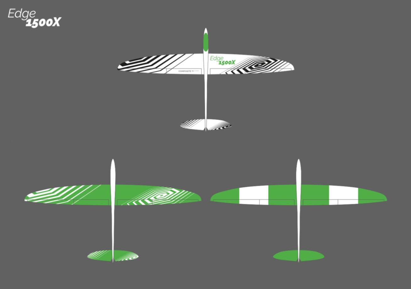 Edge 1500X Composite RC Gliders