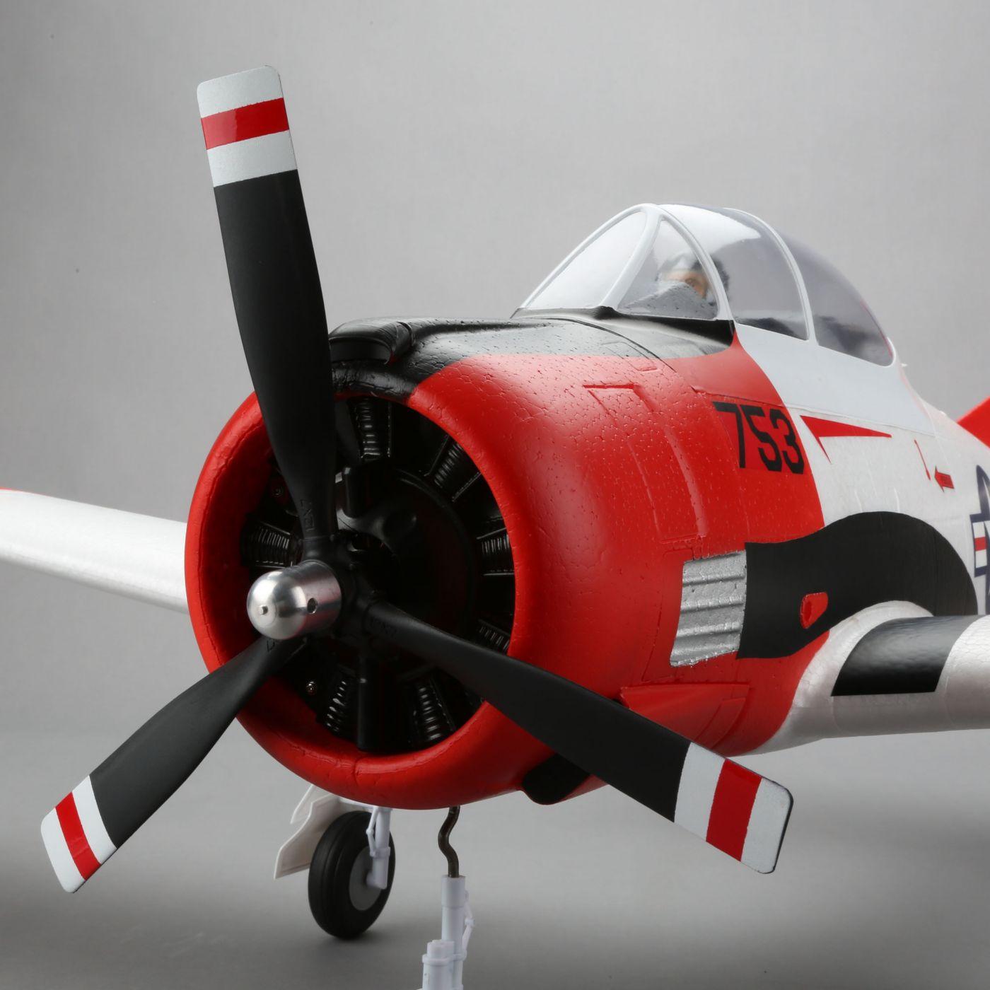 Trojan T-28 E-flite