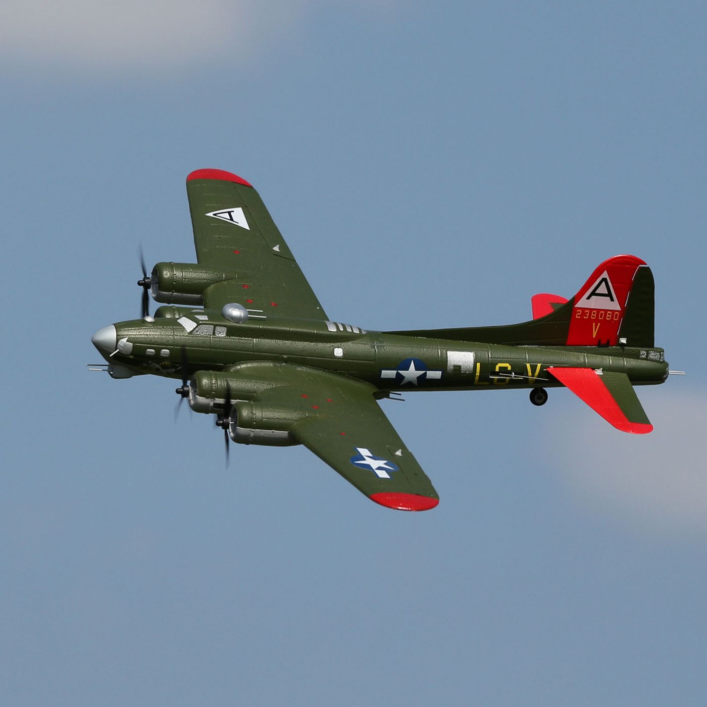UMX B-17G Flying Fortress E-flite