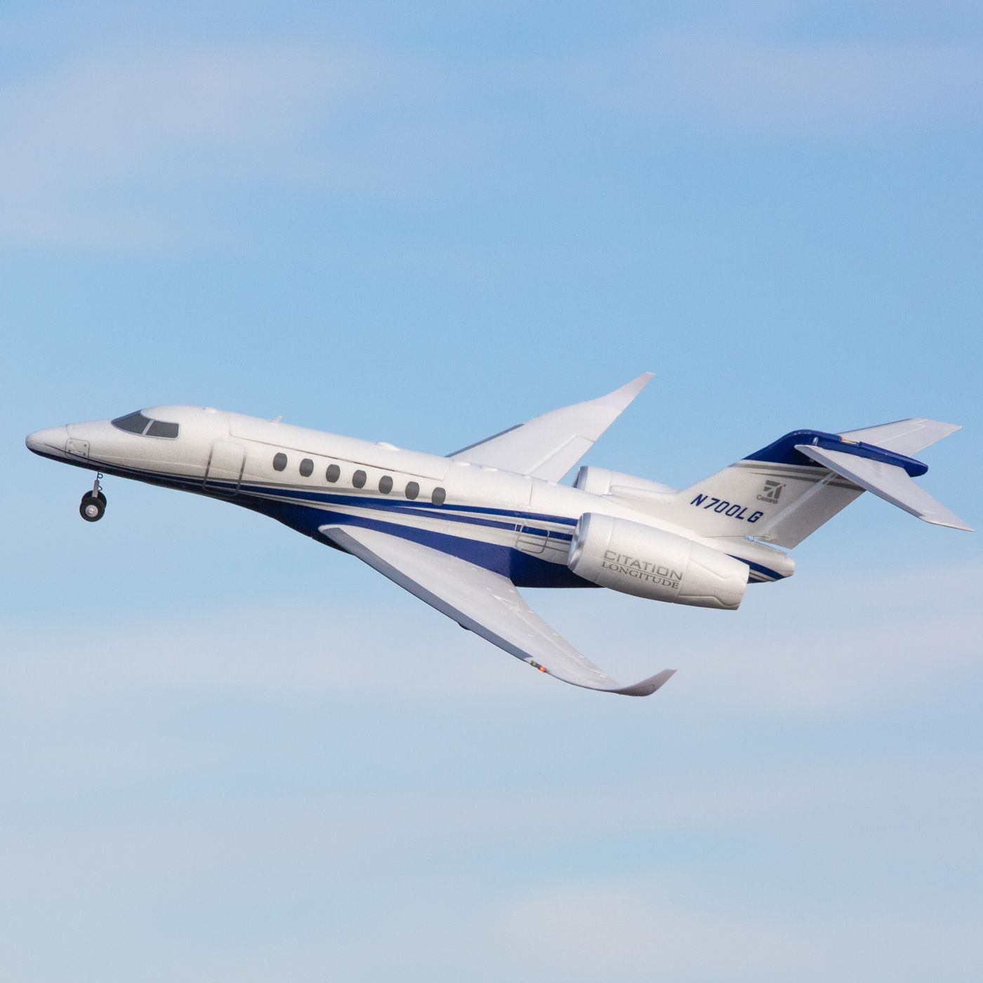 UMX Citation Longitude Twin E-flite