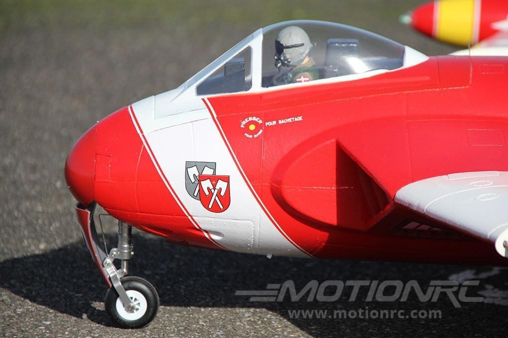 De Havilland DH-112 Venom V2 Freewing Model