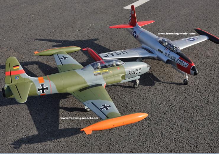 T-33 Shooting Star Freewing Model