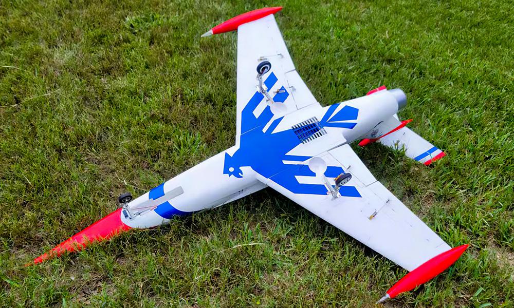 Thunderbirds Diamond 105mm Global AeroFoam