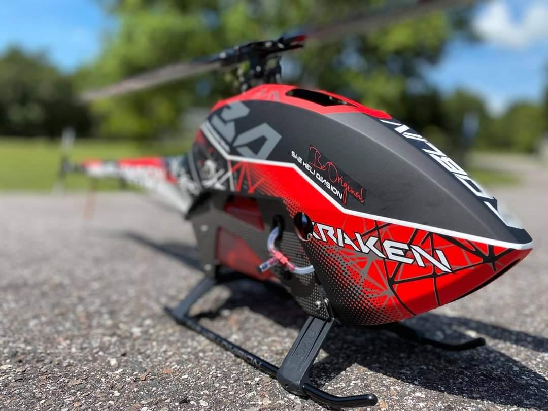 Goblin 580 Kraken Nitro Goblin Helicopters