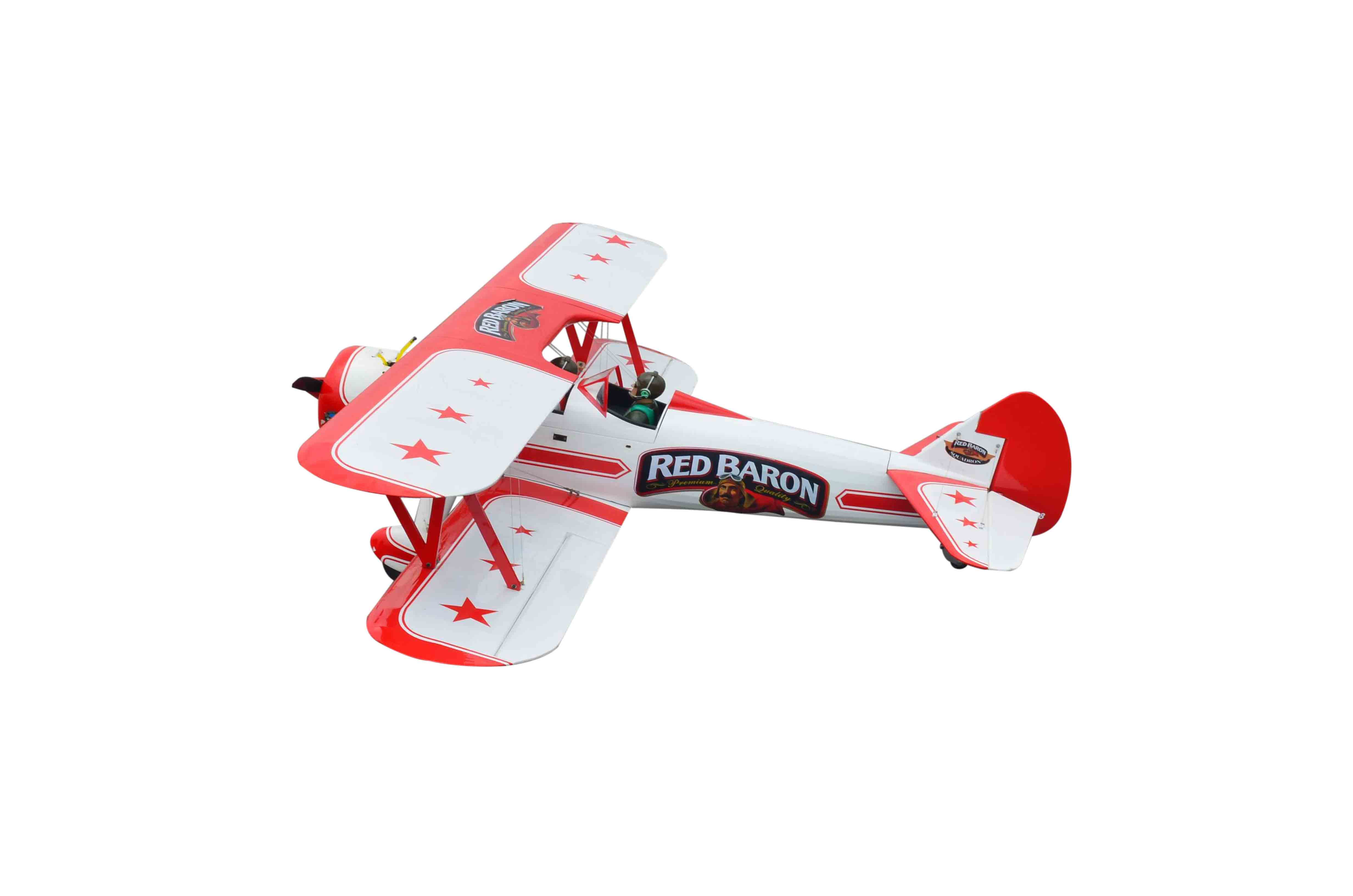 Red Baron Pizza Squadrons Stearman Seagull Models