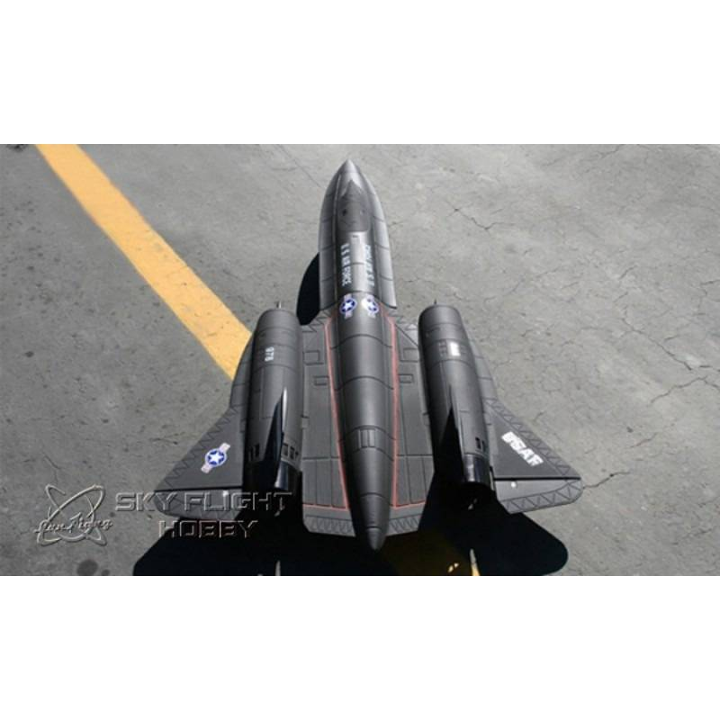 SR-71 Blackbird V2 Sky Flight Hobby