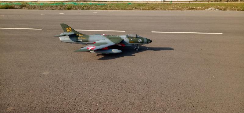 Hawker Hunter TopRCModel