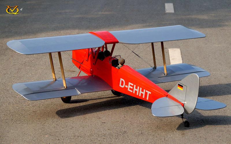 DH 82 Tiger Moth VQ Model