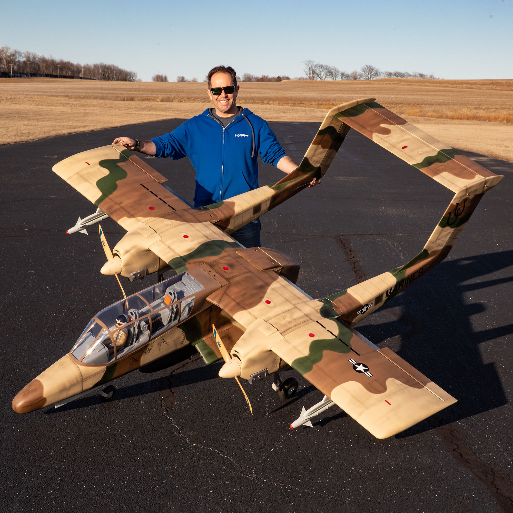OV-10 Bronco hangar 9