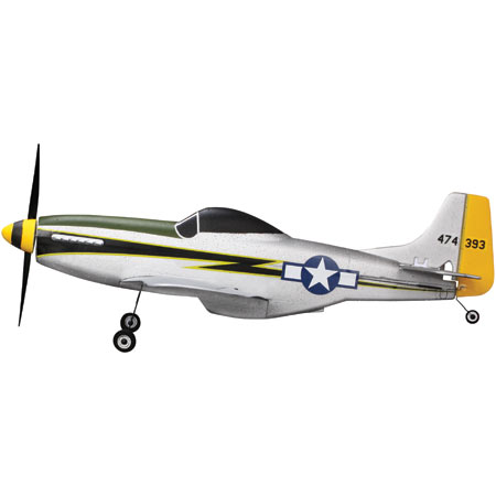 P-51D Mustang Ultra-micro parkzone